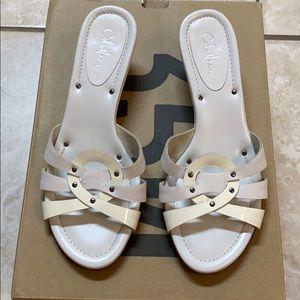 Cole Hann heels sandal